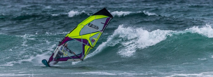 PROFFITT RESUMES POSITION AS WIND ROARS INTO TIREE